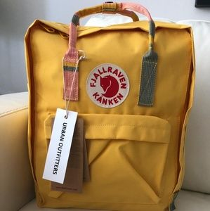 Fjallraven kanken backpack 16L yellow